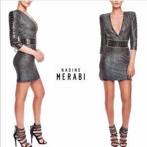 Nadine merabi sequin embellished dress - xs